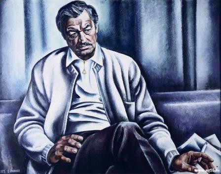 Портрет народного артиста СССР Е. Копеляна | art59.ru
