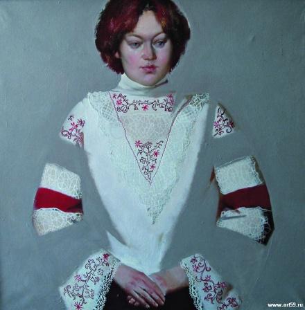 Портрет Юлии Юферевой | art59.ru