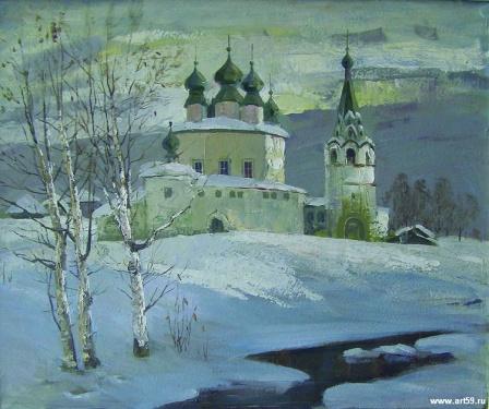 Первая оттепель | art59.ru