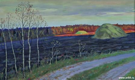 Осень. последний луч | art59.ru