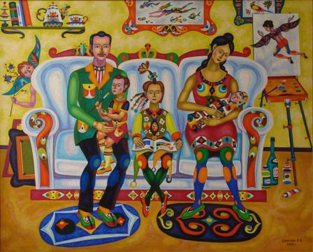 Наш папа художник | art59.ru