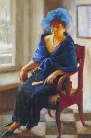 Портрет питербурженки   art59.ru