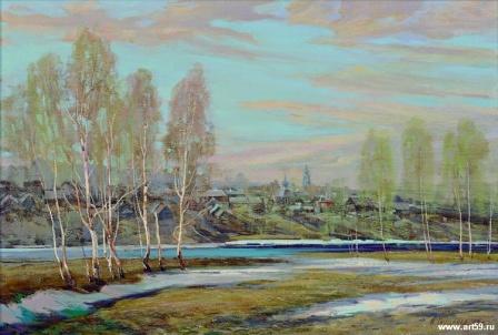 Весенний разлив | art59.ru