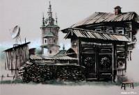 Старый  дом  в  Кунгуре | art59.ru