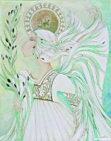 Ангел с оливковой ветвью | art59.ru