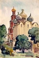 Москва. Новодевичий монастырь | art59.ru