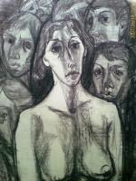 графика-,-уголь-,1986-г