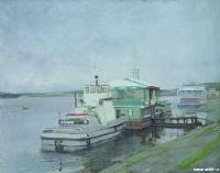 Пейзаж с пристани | art59.ru