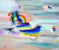 Пейзаж с радугой | art59.ru