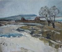 Старое русло Цивиля. Большая вода | art59.ru