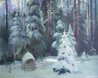 Январское утро в лесу | art59.ru