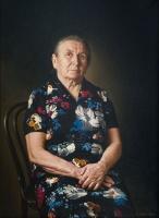 Портрет старой крестьянки | art59.ru