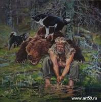 """Выставка  Александра Шадрина """"ХОЗЯИН ЛЕСА""""   art59.ru"""