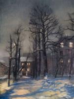 Зимний вечер | art59.ru
