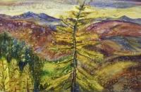 В багрец и золото одетые леса | art59.ru