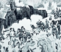 Разоружение казаков у ст. Пермь II рабочими отрядами в 1918 г | art59.ru