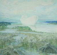 Белый пароход | art59.ru