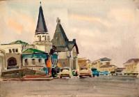 Москва. Ярославский вокзал | art59.ru