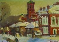 Февраль в старом городе. Кунгур | art59.ru