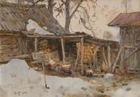 Весенний двор | art59.ru