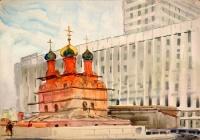 Москва. У гостиницы «Россия» | art59.ru