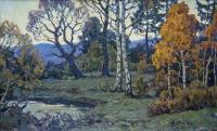 На исходе дня. Осенний пейзаж | art59.ru