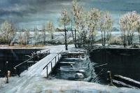 Первый снег. Начало зимы | art59.ru