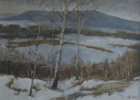 Волга замерзает   art59.ru