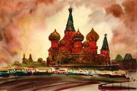 Москва. Собор Василия Блаженного | art59.ru