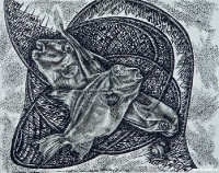 Рыбы в сетях | art59.ru