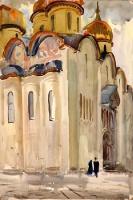 Москва. Из серии «Кремлевский соборы» | art59.ru