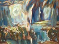 Гроза над озером   art59.ru