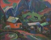 Ферма в горах. Архыз | art59.ru