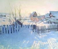 Зимний пейзаж | art59.ru