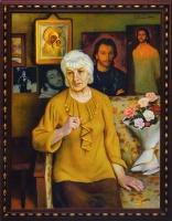 Портрет Ольги Юрьевны, матери Игоря Талькова | art59.ru