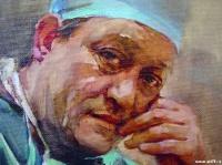 Портрет хирурга С.Г. Суханова | art59.ru