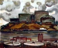 Нефтехранилище на Каме | art59.ru