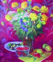 Золотые шары | art59.ru