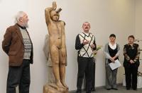 03.Близкие и друзья Николая Хромова: о выставке и о безвременно ушедшем скульпторе.