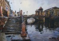 Санкт – Петербург. Мост Ломоносова | art59.ru