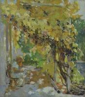 Виноград в саду | art59.ru