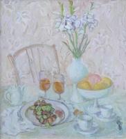 Бело-розовый натюрморт | art59.ru