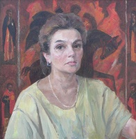 Портрет искусствоведа Л. Семечкиной | art59.ru