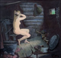 Вепская баня | art59.ru