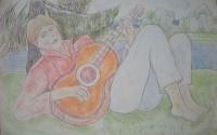 Юноша с гитарой