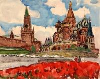 Москва. Тюльпаны | art59.ru