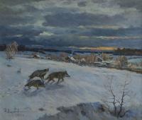 Волки   art59.ru