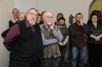 09.Гости и друзья Николая Хромова, пришедшие на открытие выставки.